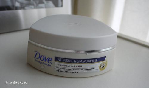 【Dove多芬深層修護髮膜】刺蝟變成小綿羊..
