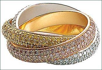 【三環戒】Cartier最受歡迎的Trinity ring