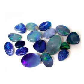 Opal–Doublet & Tirplet 夾層蛋白石