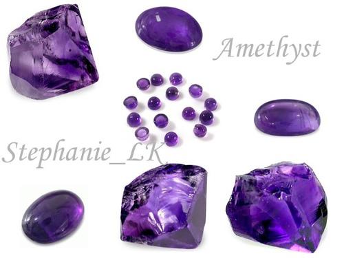 【二月誕生石】Amethyst紫水晶
