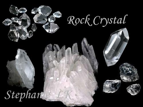 Quartz–石英家族–Rock Crystal白水晶