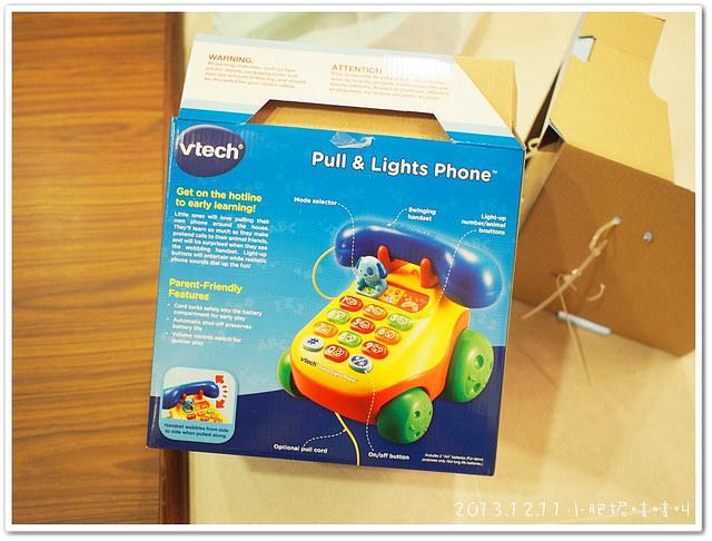 【Vtech 寶寶學習電話機 】真的電話還是比較好玩~~@@