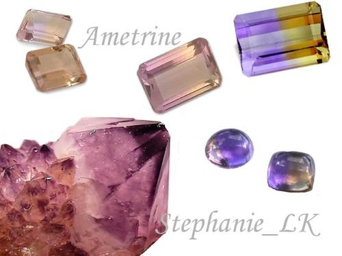 Quartz~石英家族–紫黃晶.綠水晶