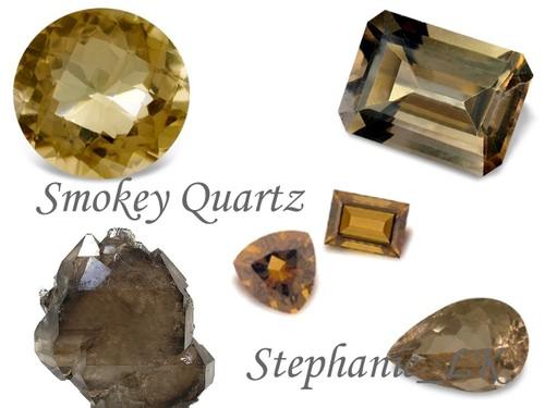 Quartz–石英家族–Smoky Quartz煙晶