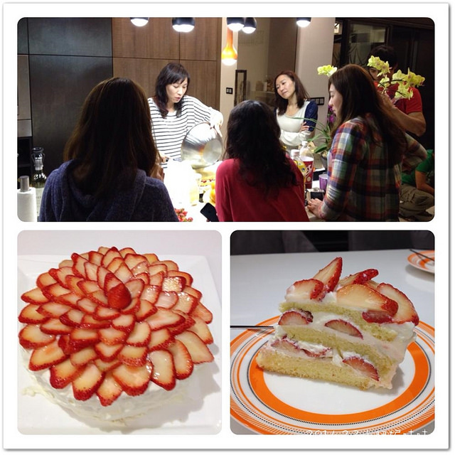 【Helen烘培教室】季節限定的草莓蛋糕…