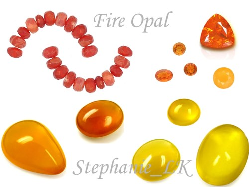 Opal –Fire opal火蛋白石